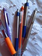 Pilot G-2, Bic Mechanical Pencils, Zebra F-301