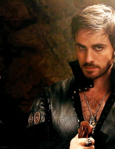 Nefarious or not, I of course have to post a picture of 'Captain Hook'
