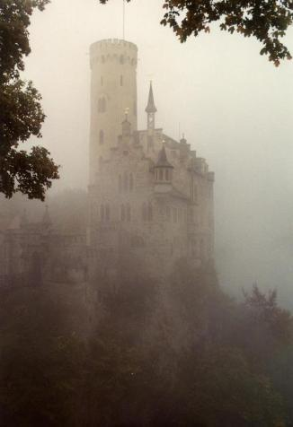 Misty castles are perfect for that gothic doom novel I'll never write