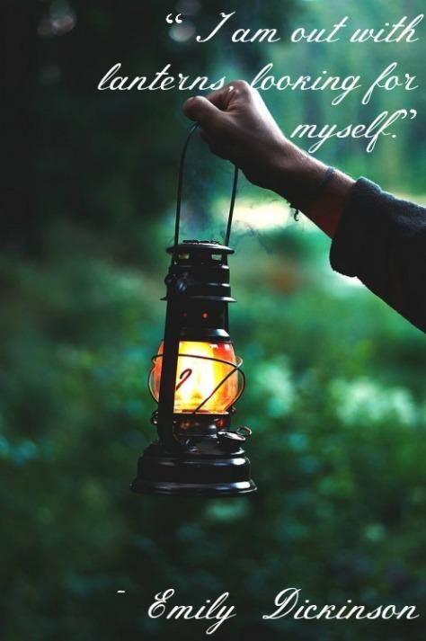 Emily Dickinson Lanterns