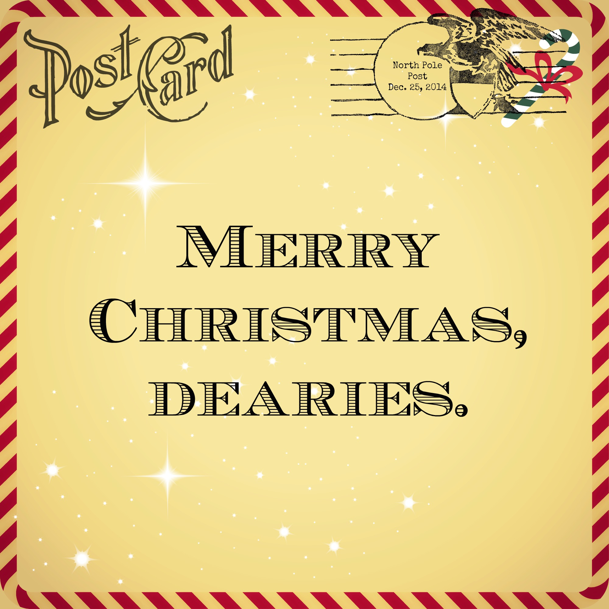 Merry Christmas Dearies