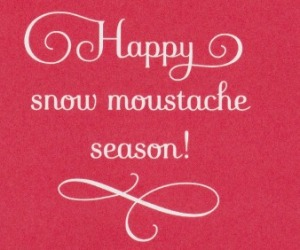snow mustache_ word edit