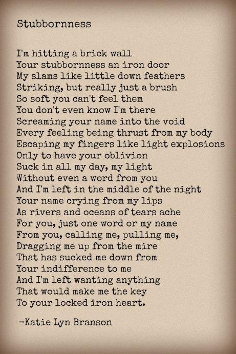 Stubbornness 12-29-14