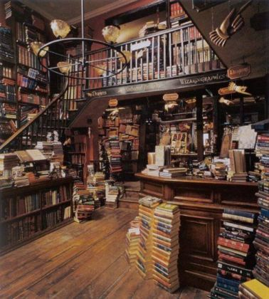 A darker version of a similar idea for Bookends bookstore.