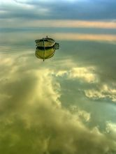 floating boats
